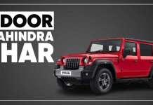 5 Door Mahindra Thar Coming In 2023