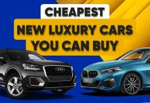 Cheapest luxury cars- ft
