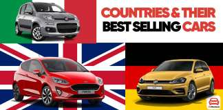 Countries & Their Best Selling Cars