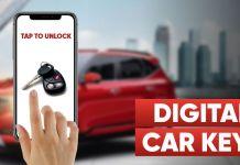 Digital car keys