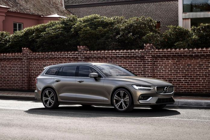 Volvo V60 is the best selling car in Sweden