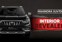 XUV700 Int. Revealed