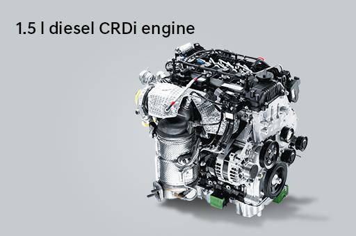 1.5 l diesel CRDi