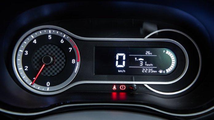 Aura Speedometer