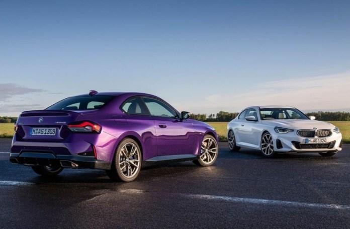 BMW 2-series couple revealed