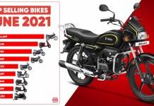 Top selling bikes