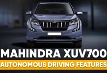 XUV700 features