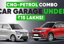 CNG-Petrol Combo Garage