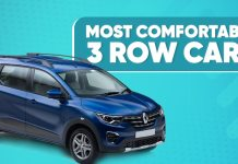 Comfortable 3-Row Cars In India