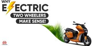 Electric Two Wheelers Just Make Sense