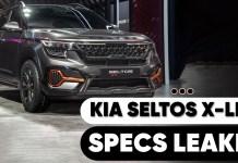 Kia Seltox X Line Specs Leaked Ahead of Launch