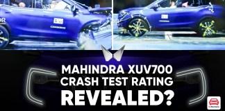 XUV700 crash test