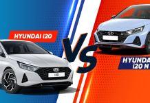 Hyundai i20 VS Hyundai i20 NLine