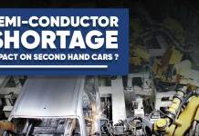 Semiconductor Shortage On The Second Hand Car