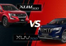 XUV 500 vs XUV 700