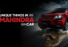 8 Unique Things About Mahindra