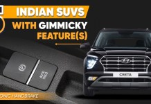 Indian SUVs With Gimmicky Features