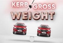 Kerb Curb Vs Gross Wweight