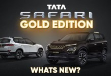 Here's What New About The Tata Safari GOLD EDITION