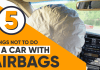 Things not to do in a car with Airbags
