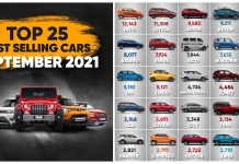 25 best selling cars