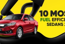 10 Most Fuel Efficient (Best Mileage) Sedans In India 2021