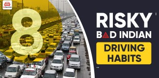 Risky Indian Driving Habits