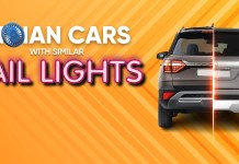 Cars In India With Similar Looking Tail Lights