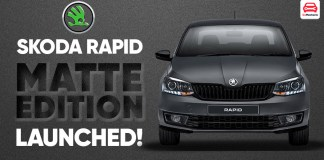 Skoda Rapid Matte Edition Launched