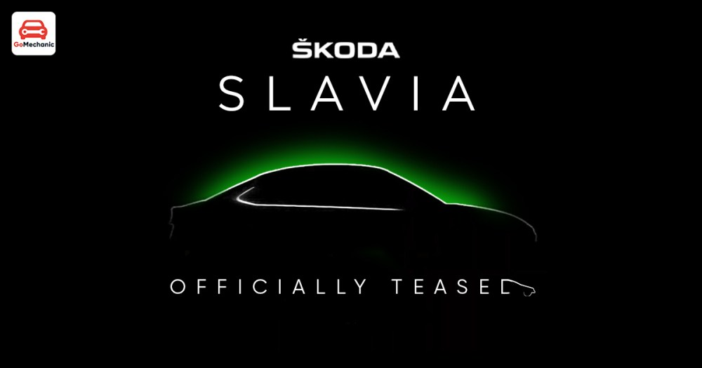 Skoda Slavia Officially Teased Ahead of Year-End Launch
