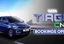 2021 Tata Tiago CNG Bookings Begin?