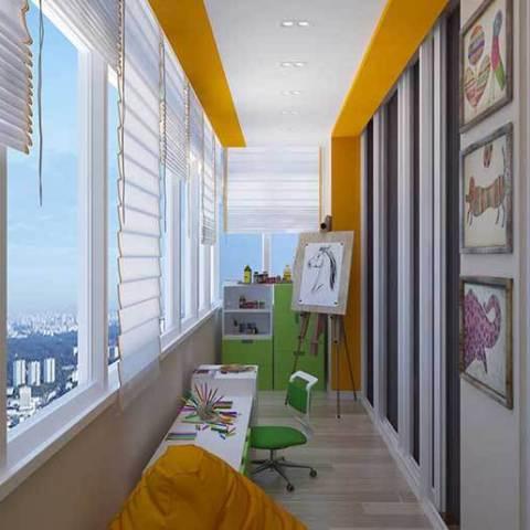 обшивка балконов и лоджий в Гомеле