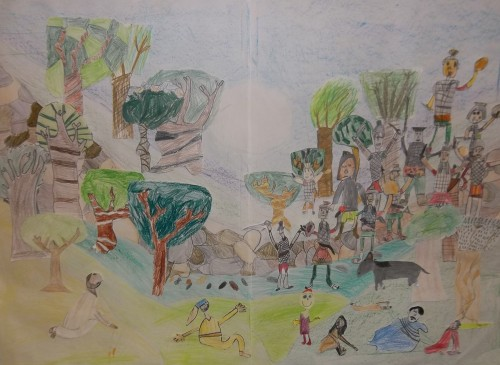 """The Garden Of Gethsemane"" by Year 3"
