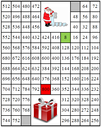 8 maze