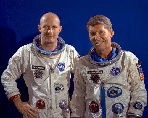 Day 17 Gemini 6 Crew
