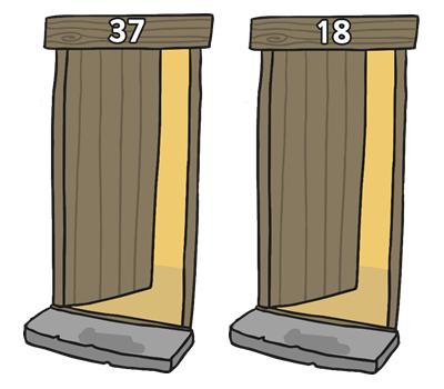 Day 23 doors