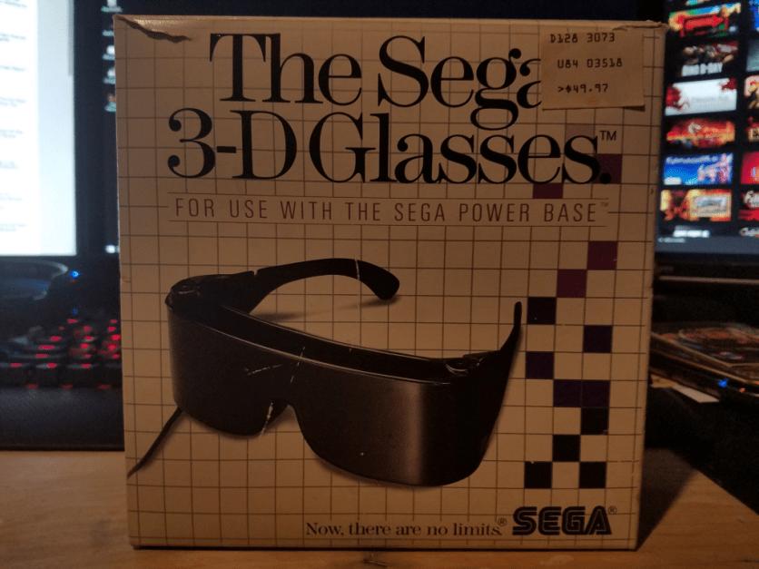 Sega 3-D Glasses
