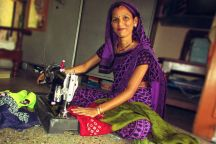 give-single-mother-sewing-machine