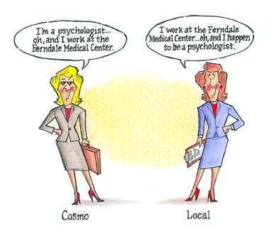 Cosmo vs Local