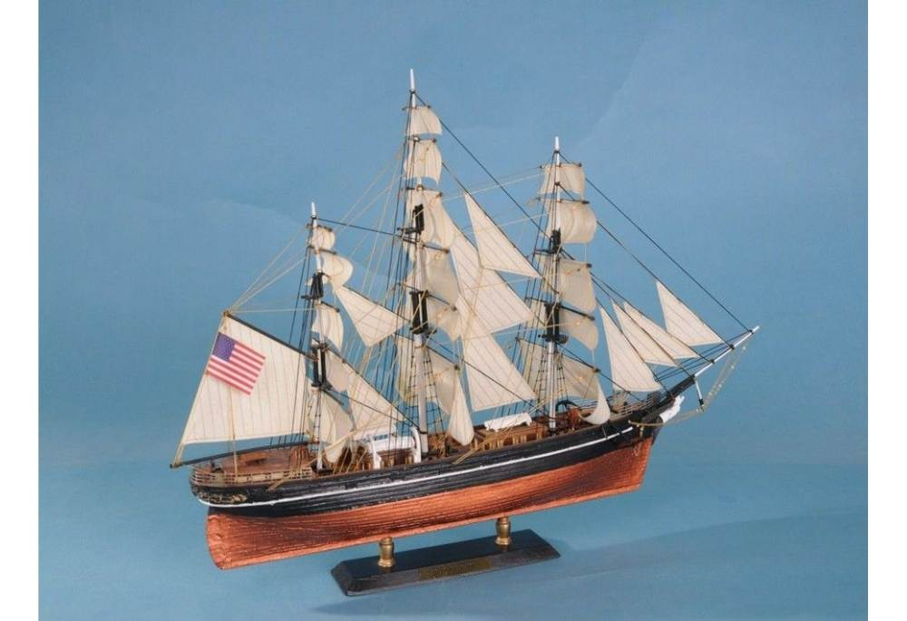 Flying Cloud Clipper Wooden Tall Ship Model 21