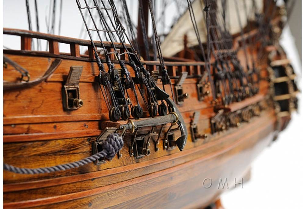 Fairfax Wooden Tall Ship Model