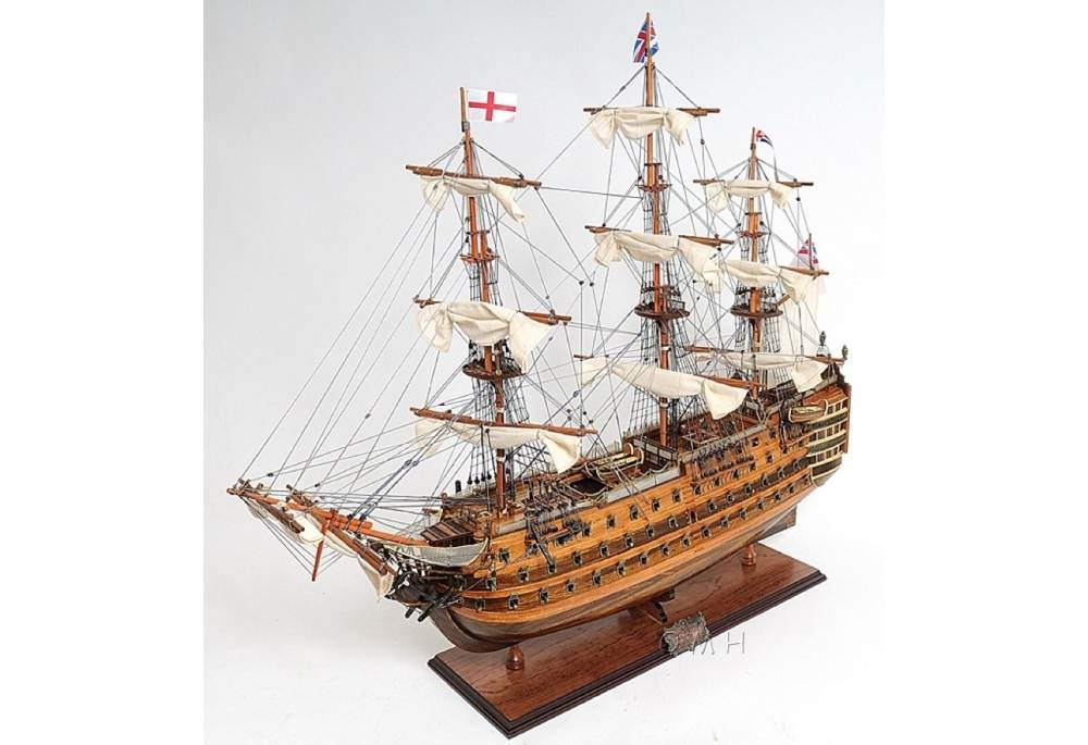 HMS Victory Wooden Tall Ship Model