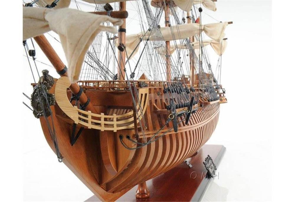 1690 San Felipe Open Hull Tall Ship Model