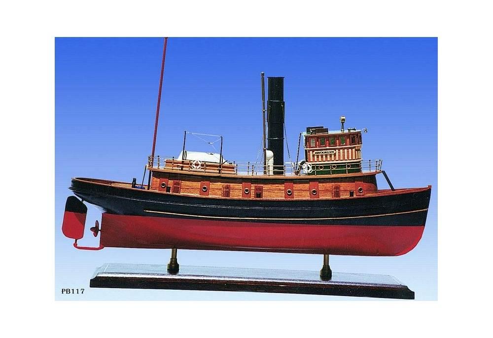 1918 New York Harbor Tug Boat Scaled Model