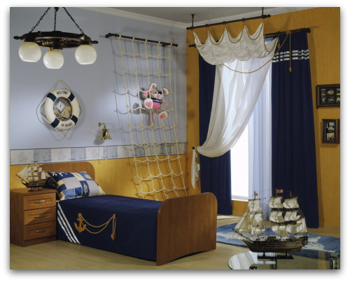 Bookcase Raw Boat, Decorating With Boats, Decorating With
