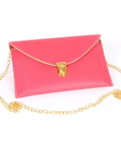 Candy Color Envelope Clutch Bag Shoulder Bag