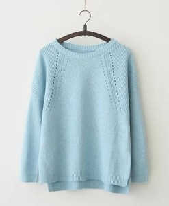 O-Neck Full Sleeve Loose Sweater