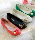 Flat Bow Ballerin Shoes