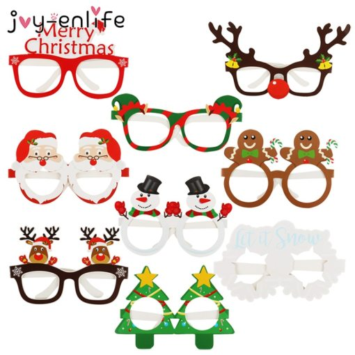 9 pcs Christmas Glasses for family