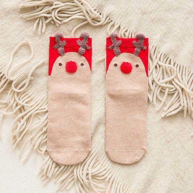 Cotton Super Cozy Christmas Socks